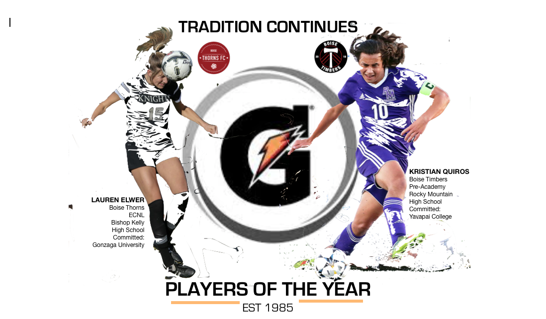 BOISE TIMBER AND THORN CAPTURE GATORADE ACCOLADES!!!
